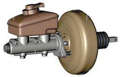 Вакуумный усилитель тормозов - устройство, принцип работы